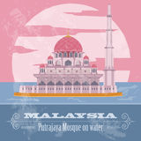 Malaysia. Retro styled image. Royalty Free Stock Images