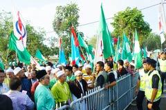 Malaysia riksdagsval 2013 Arkivfoton