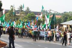 Malaysia riksdagsval 2013 Royaltyfri Bild