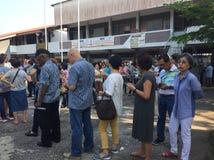 Malaysia riksdagsval 2018/GE 14 Fotografering för Bildbyråer