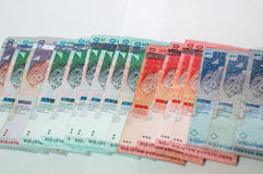 Malaysia Ringgit. / Currency Stock Image
