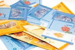 Malaysia Ringgit bank notes Stock Photos