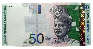 Malaysia Ringgit Stock Images