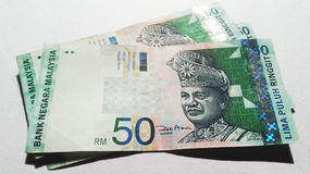 Malaysia Ringgit Stock Photography