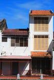 Malaysia Riverside Traditional House Stock Photography
