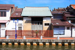 Malaysia Riverside Traditional House Royalty Free Stock Photography