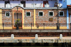 Malaysia Riverside Traditional House Royalty Free Stock Images