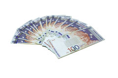 Malaysia RM100 Notes Royalty Free Stock Photography