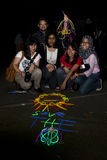 Malaysia's celebrate Earth Hour 2011 Stock Photography