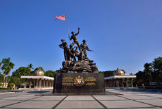 Malaysia's National Monument Royalty Free Stock Image