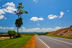 Malaysia's Rural Road Royalty Free Stock Images