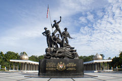 Malaysia's Tugu Negara (National Monument) Royalty Free Stock Photos