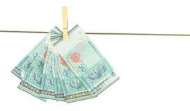 Malaysia sedlar III Arkivfoton