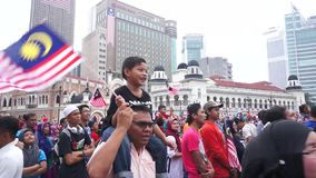 Malaysia självständighetsdagen 57th