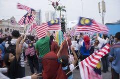 Malaysia självständighetsdagen 57th Royaltyfri Bild