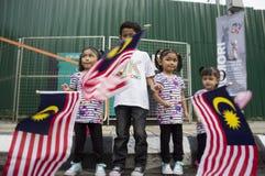 Malaysia självständighetsdagen 57th Royaltyfri Foto