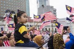 Malaysia självständighetsdagen 57th Royaltyfri Fotografi