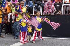 Malaysia självständighetsdagen 57th Arkivbild