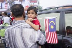 Malaysia självständighetsdagen 57th Arkivbilder