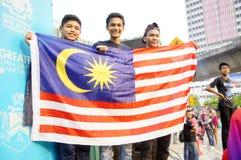 Malaysia självständighetsdagen 58th Arkivbild