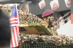 Malaysia självständighetsdagen 58th Royaltyfri Fotografi