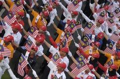 Malaysia självständighetsdagen 58th Arkivfoto