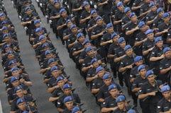 Malaysia självständighetsdagen 58th Fotografering för Bildbyråer