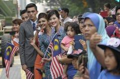 Malaysia självständighetsdagen 58th Arkivfoton