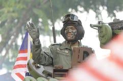 Malaysia självständighetsdagen 58th Royaltyfria Bilder