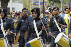 Malaysia självständighetsdagen 58th Arkivbilder