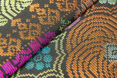 Malaysia Songket Royalty Free Stock Photography