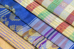 Malaysia Songket. Songket is a fabric that belongs to the brocade family of textiles of Indonesia, Malaysia and Brunei. It is hand-woven in silk or cotton Royalty Free Stock Images
