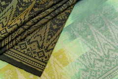 Malaysia Songket Royalty Free Stock Photos