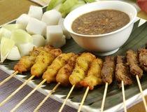 Malaysia Spicy Satay Stock Photo
