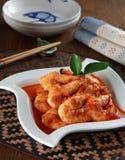 Malaysia Spicy Satay stock image