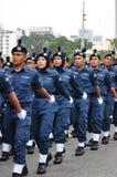 Malaysia ståtar den 57th självständighetsdagen Royaltyfria Bilder