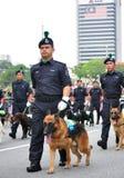 Malaysia ståtar den 57th självständighetsdagen Royaltyfri Foto