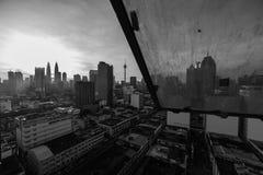 Malaysia-Stadtskyline lizenzfreie stockfotos