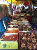 Malaysia-Straßenlebensmittel stockbilder