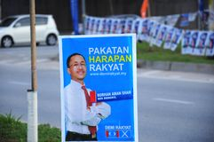 Malaysia 13th General Election 2013 Stock Images