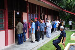 Malaysia 13th General Election 2013 Polling Day Royalty Free Stock Images