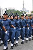 Malaysia 57th Independence Day Parade. Royalty Free Stock Images