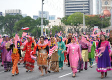 Malaysia 57th Independence Day Parade. Royalty Free Stock Photos