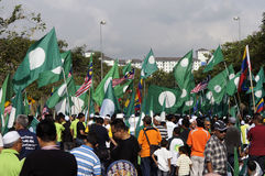 Malaysia 13th riksdagsval Fotografering för Bildbyråer