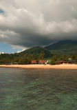 Malaysia , Tioman Island.Vertical view. Stock Photos
