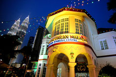 The Malaysia Tourism Centre. (MaTiC) is located at Jalan Ampang, Kuala Lumpur, Malaysia, which is both an architectural and historical landmark. Built in 1935 Royalty Free Stock Photo