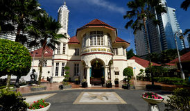 The Malaysia Tourism Centre (MaTiC). Is located within a building in Kuala   Lumpur, which is both an architectural and historical landmark. Built in 1935, the Royalty Free Stock Photo