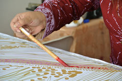 Malaysia traditional batik canting or batik tulis Stock Photo