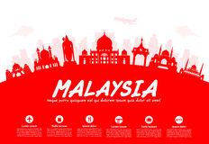 Malaysia Travel Landmarks Stock Photography
