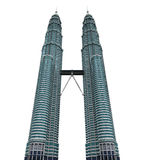 Malaysia Twin Tower stock illustration
